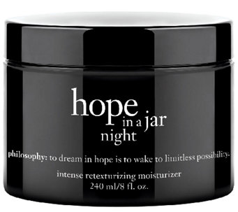 philosophy hope in a jar night 8 oz. - A265551