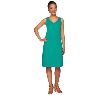 Isaac Mizrahi Live! Regular Sleeveless Knit Dress - A266051