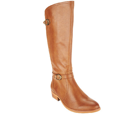 """As Is"" BareTraps Tall Shaft Boots with Buckles - Tommy"