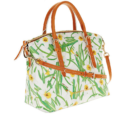 """As Is"" Dooney & Bourke Daffodil Domed Satchel"