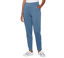 Isaac Mizrahi Live! SOHO Space Dye Ankle Pants w/ Zipper Detail - A279051