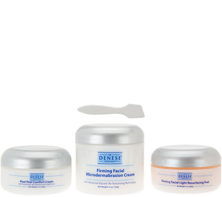 Dr. Denese Firming Facial 3pc Peel System with Spatula Auto-Delivery