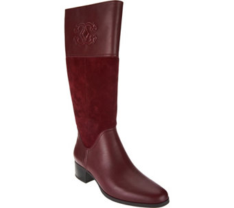 """As Is"" C. Wonder Tall Boots with Embossed Detail - Mira - A293151"