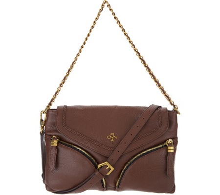 orYANY Pebble Leather Convertible Crossbody -Lily