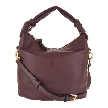 Tignanello Smooth Leather Soft Knot Convertible Crossbody