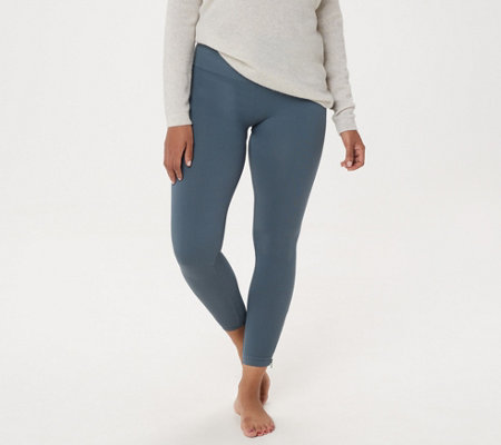 Spanx Seamless Side Zip Leggings