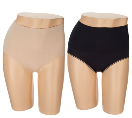 Yummie Seamlessly Shaped Brief Set of Two