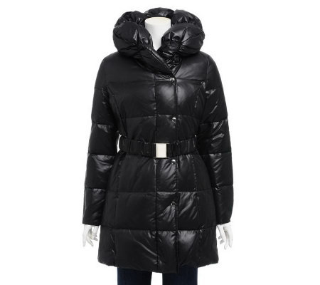 Via Spiga Pillow Collar Down Coat