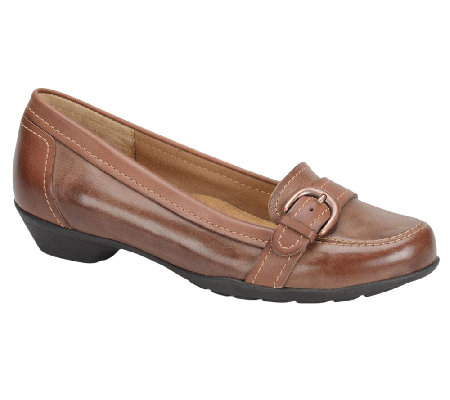 Softspots Parson Leather Slip-on Loafers