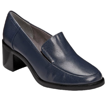 Aerosoles Heel Rest Slip-on Leather Loafers - Heartthrob - A334151