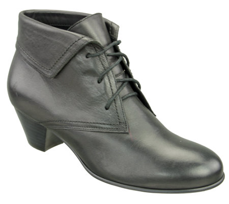 David Tate Lace-up Leather Ankle Boots - Angelica
