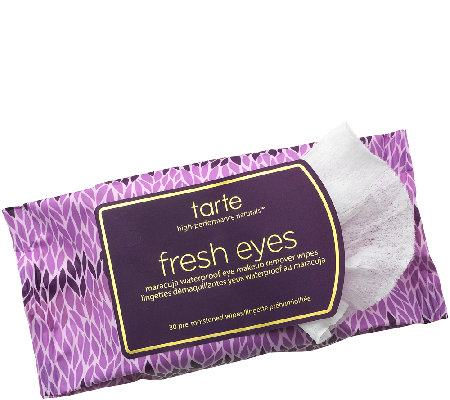 tarte Fresh Eyes Maracuja Eye Makeup Remover Wipes