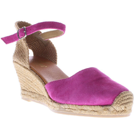 Azura by Spring Step Espadrille Wedges - Antoine