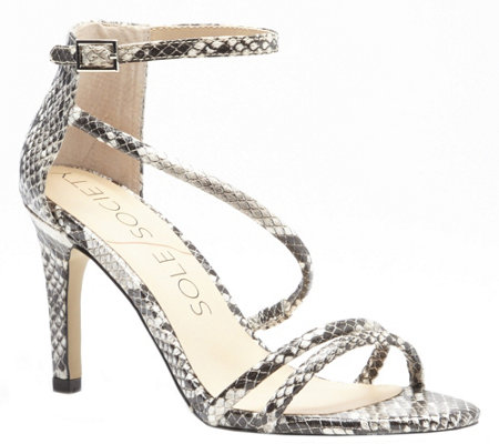 Sole Society Strappy Heeled Sandals - Algeciras