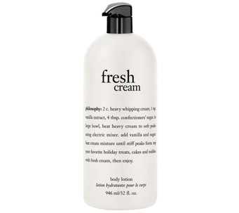 philosophy fresh cream body lotion, 32 oz - A340651