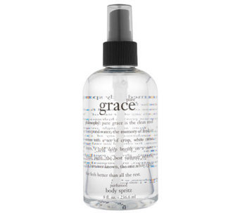 philosophy pure grace perfumed body spritz 8 oz. - A84651