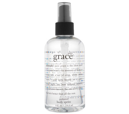 philosophy pure grace perfumed body spritz 8 oz.