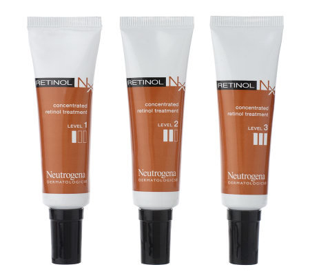 Neutrogena Dermatologics Retinol Nx Progression Kit