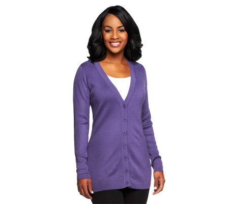 Linea by Louis Dell'Olio Long Sleeve Cardigan