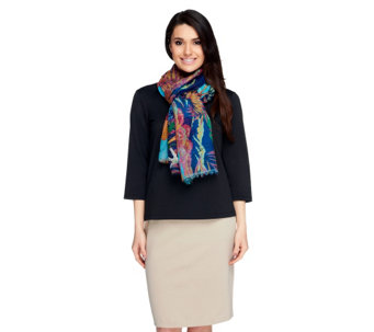 Joan Rivers Tropical Reef Scarf - A252752