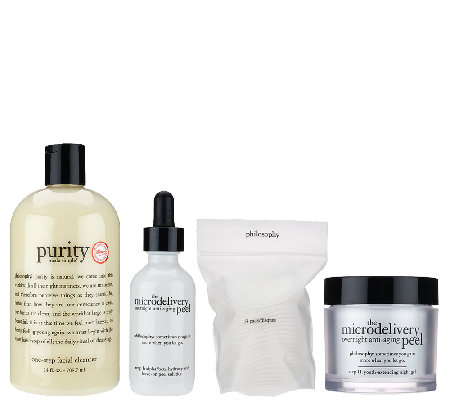 philosophy purity and microdelivery overnight peel