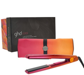 "ghd Bird of Paradise 1"" Styling Iron w/ Mat & Box - A271052"
