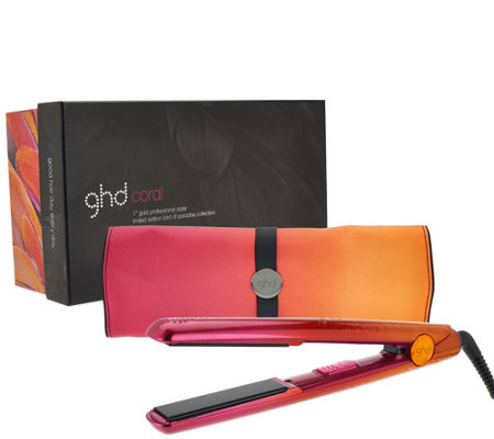"ghd Bird of Paradise 1"" Styling Iron w/ Mat & Box"