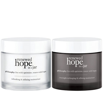 philosophy renewed hope in a jar am/pm moisturizer duo - A277252