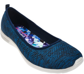 Skechers Space-Dyed Engineered Mesh Skimmers - Stardust - A277952