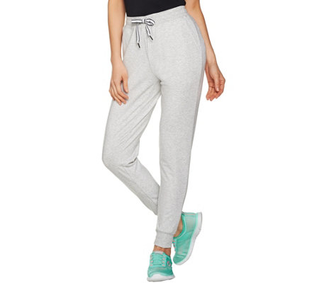 cee bee CHERYL BURKE Petite French Terry Jogger Pants