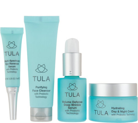TULA Probiotic Skin Care 4-Piece Essentials Collection