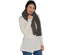 Barefoot Dreams Cozychic Scarf with Contrast Tip - A293852