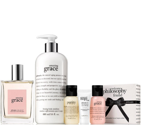 philosophy amazing grace for our friends fragrance duo