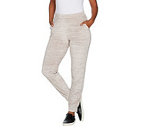 Lisa Rinna collection Pull On Velour Jogger Pants - A299552