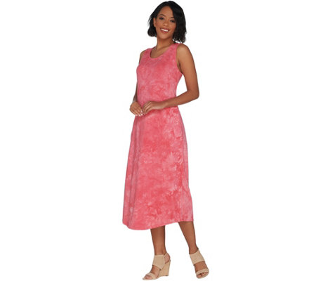 Belle by Kim Gravel Tie Dye Maxi Dress