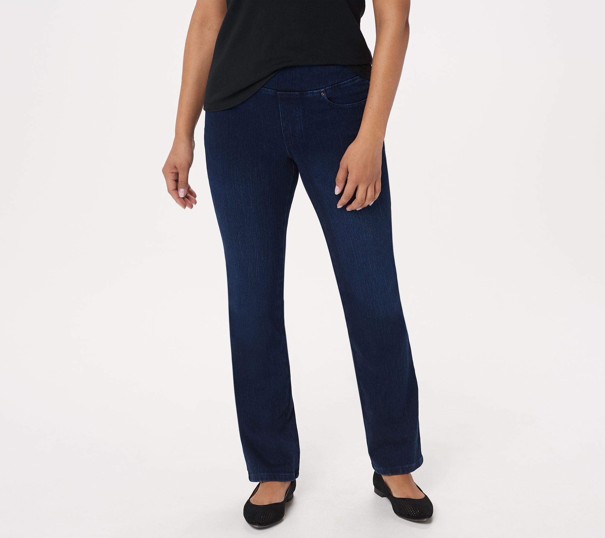 Belle by Kim Gravel Petite Flexibelle Boot-Cut Jeans - A311352