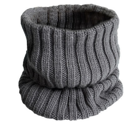 Nirvanna Designs Rib Knit Neckwarmer