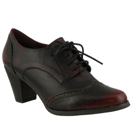 Spring Step L'Artiste Oxford Brogue Shoes - Ennia