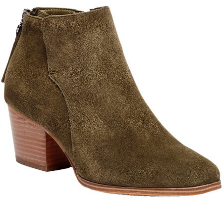 Sole Society Leather Ankle Boots - River