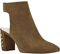 Nine West Leather Booties - Xtravert - A361552