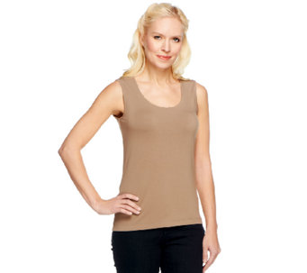 Linea by Louis Dell'Olio Rounded Neck Knit Tank - A252353