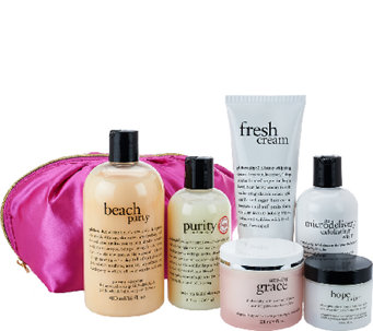 philosophy beautiful you 6-piece collection with deluxe bag - A265253