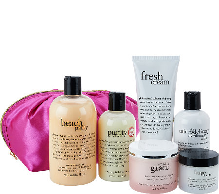 philosophy beautiful you 6-piece collection with deluxe bag