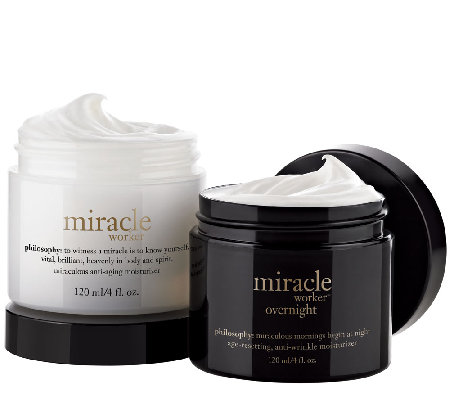 philosophy miracle worker moisturizer am/pm duo 4 oz. Auto-Delivery