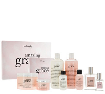 philosophy 8 piece grace & love fragrance collection Auto-Delivery - A275053