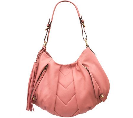 orYANY Smooth Leather Hobo - Lucia
