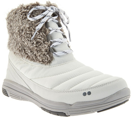 Ryka Water Repellent Lace-up Boots - Addison