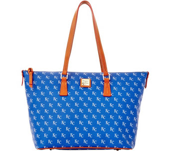 Dooney & Bourke MLB Royals Zip Top Shopper - A280053
