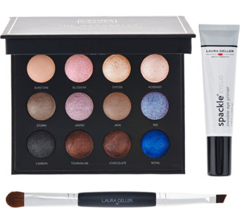 Laura Geller Eyeshadow Palette w/ Spackle Eyelid Primer - A280853