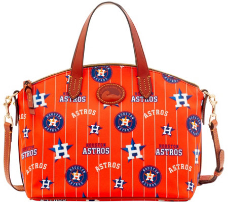 Dooney & Bourke MLB Nylon Astros Small Satchel